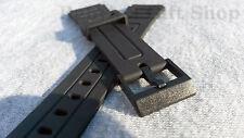 Casio 18mm reloj correa de reemplazo se adapta a ° 1 f94 F105 + Negro Hebilla Libre 1 Envío