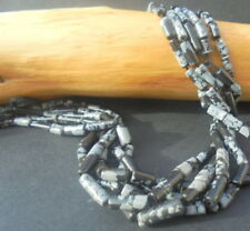 LOT 15 PERLE OBSIDIENNE PIERRE NATURELLE 9mm NATURAL OBSIDIAN NATURAL STONE BEAD