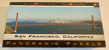 San Francisco Golden Gate Bridge Panoramic 2000 Buffalo Puzzle Made In USA 🇺🇸