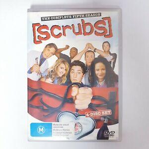 Scrubs Season 5 TV Series DVD Region 4 AUS - 4 x Disc Set Comedy