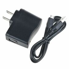Generic 5V 1A DC Power Charger Adapter+USB PC Cord Cable For Archos 80 G9 Tablet