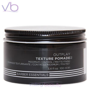 REDKEN BREWS FOR MEN Outplay Texture Pomade for Maximum Control w/t Matte Finish