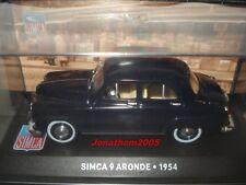 SIMCA 9 ARONDE 1954 au 1/43 °