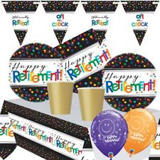 Officially Retired Retirement Themed Party Range, Balloons, Decorations, Games