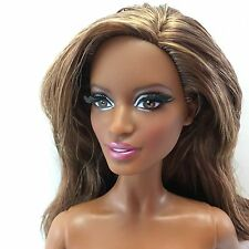 NEW BLACK LABEL Barbie Look City Shine Brunette AA Ethnic Pazette Face Muse Doll