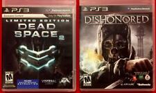 PS3 / Sony Playstation 3-Two (2Games)  DISHONORED & Limited Edition DEAD SPACE 2