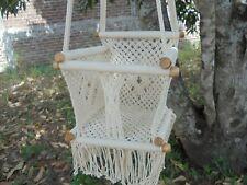 Macrame baby chair swing /hammock chair swing/Hanging baby chair/Free shipping