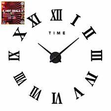 GRANDE orologio da parete da giardino esterno Big Numeri Romani Orologio GIGANTE faccia aperta 90 cm