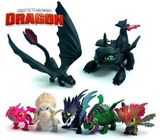 7 PCS How To Train Your Dragon Figurines Play Set  Toys Birthday Gift TR0111