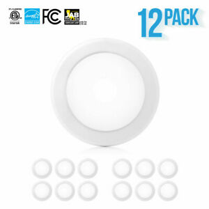 "12-24 x PARMIDA 5/6"" 15W LED Disk Light Ultra Thin Dimmable Flush Mount Ceiling"