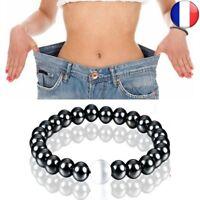 Bracelet Soins Santé Magnétique Extensible Hommes Femmes Perte Noir Thérapie