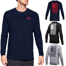 Under Armour Men's Athletic ua Liberdade Bandeira T-shirt Camiseta Manga Longa 1333369