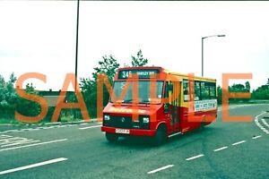 35mm slide Welcome (Gateshead) Renault Dodge S75 / Plaxton K 343 PJR