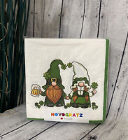 ST PATRICKS DAY GNOMES 40 PACK NAPKINS BY NOVOGRATZ HOME IRISH GNOMES! NEW