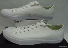 New Mens 13 Converse Chuck Taylor All Star CT 2 Ox White $70 150154C