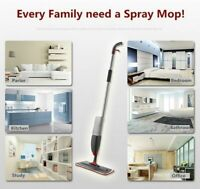 700ml Spray Mop Water Spraying Floor Cleaner Tiles Microfibre Kitchen 1,2 Pads