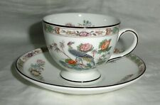 Wedgwood Kutani Crane Cup & Saucer in MINT Condition