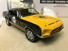 1/24 Franklin Mint 1968 Shelby GT 500KR Terlingua Shelby Signed Autographed