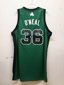 ADIDAS NBA SWINGMAN BOSTON CELTICS SHAQUILLE O'NEAL GREEN ALT JERSEY SIZE M