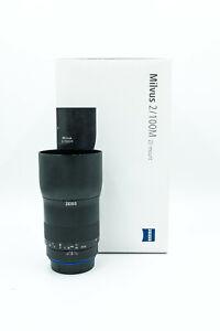 Zeiss Milvus 100mm Makro F/2 Lenses for Canon EF