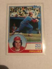 1983 Topps Pete Rose Philadelphia Phillies #100 (KCR)