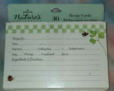 Marjolein Bastin Hallmark Nature's Sketchbook recipe cards Nip, Bees