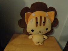 RARE TAN HELLO KITTY ANCIENT HAWAIIAN WARRIOR OR MAYBE LION PLUSH DOLL FIGURE