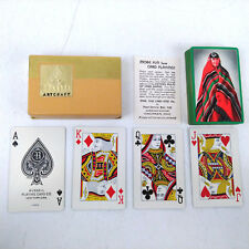 Vtg Russell Artcraft 1930s Navajo Native American Woman & Blanket Playing Cards