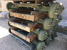 M101A3 military trailer axle hub to hub. HMMWV, M998.