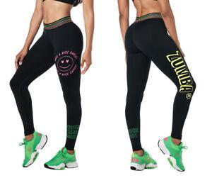 Zumba Pop Ankle Leggings - Bold Black - XS, Small, Medium, Large, XL, XXL ~ New!
