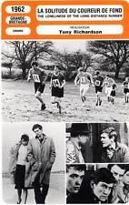FICHE CINEMA : LA SOLITUDE DU COUREUR DE FOND - Redgrave,Courtenay,Bunnage 1962