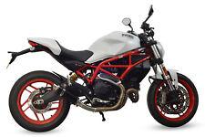 Ducati Monster 797 Exhaust SP Engineering Black Stubby Moto GP 2017 2018 2019