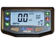 Acewell ACE-258 digital speedometer Warning lamps NOT Trailtech Vapour Vapor