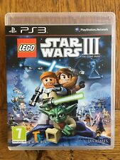 Lego Star Wars 3 The Clone Wars (unsealed) - PS3 UK Release New!
