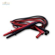 Ett1325538 Messkabelsatz McPower ''premium'' 130 Cm schwarz rot Sicherheitsst