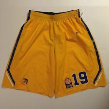 Authentic Game Worn Euroleague Shorts - Size XXLT