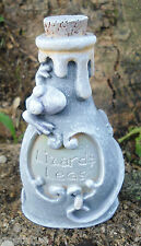 Latex Halloween potion bottle mold with lizard plaster concrete mould