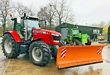 More details for new heavy duty tractor mounted hydraulic snow ploughs, gritter ,plough,salt,jcb
