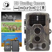 Trail Camera 16MP 1080P Infrared Night Vision Game Wildlife Hunting Cam  IP65 AU