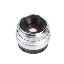 25mm F1.8 Prime Lens Manual Focus MF For Sony E-mount Camera A6500/6000 NEX7