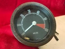 Classic Car 4 Inch Tachometer Smiths 6 Cylinder RVI2617/00 Tested Working