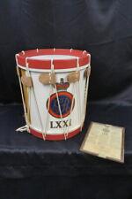 Authentic Replica Revolutionary War Rope Drum - Bicentennial Edition