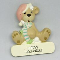 Enesco Precious Moments 1989 Samuel J Butcher Happy Holidaze Pin