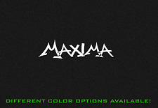 Maxima Nissan Nismo Graffiti Vinyl Decal Sticker MAXIMA 7""