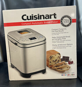 Cuisinart - Compact Automatic Bread Maker - Stainless Steel