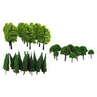 120 Packungen Green Model Trees 1: 100 HO Maßstab Landschaftsbau Railraod