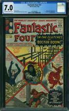 Fantastic Four #17 CGC 7.0 -- 1963 -- Doctor Doom. President JFK #2015908008
