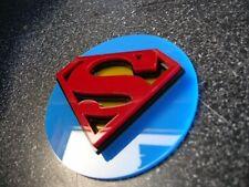 3D SUPERMAN magnet ART new emblems Movies 3-D DC comic book BATMAN Spiderman