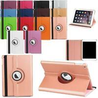 For iPad Mini 2 3 4 360 Rotating Leather Folio Case Cover Stand Auto Sleep/Wake