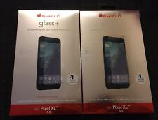 2x NEW ZAGG Invisible SHIELD Glass Screen Protector for Google Pixel XL 5.5 Inch